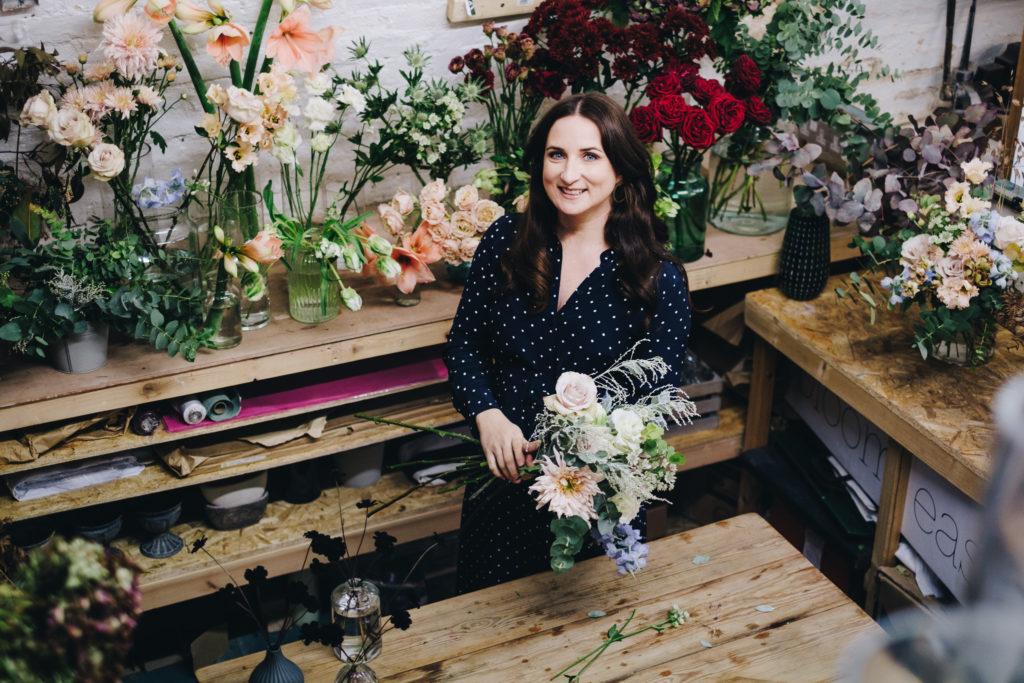 Anya Florist Branding Photoshoot 4 Personal Brand Photography for London Florist in Peckham