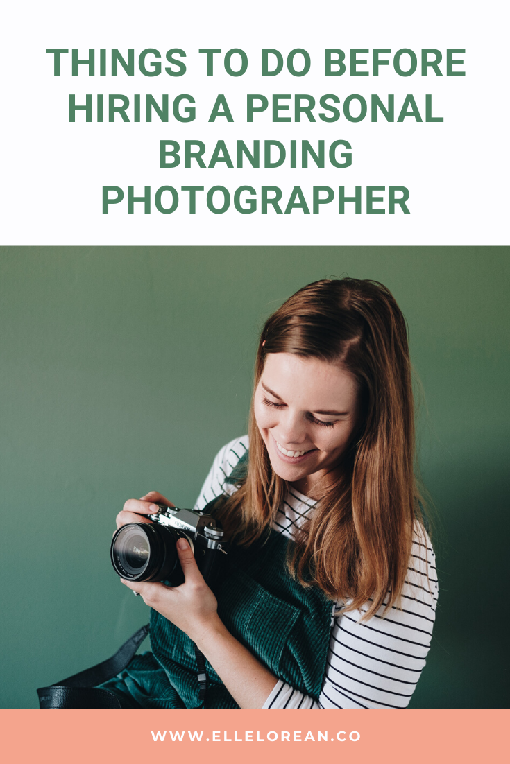 Things to do before hiring a personal branding photographer Things to do before hiring a personal branding photographer