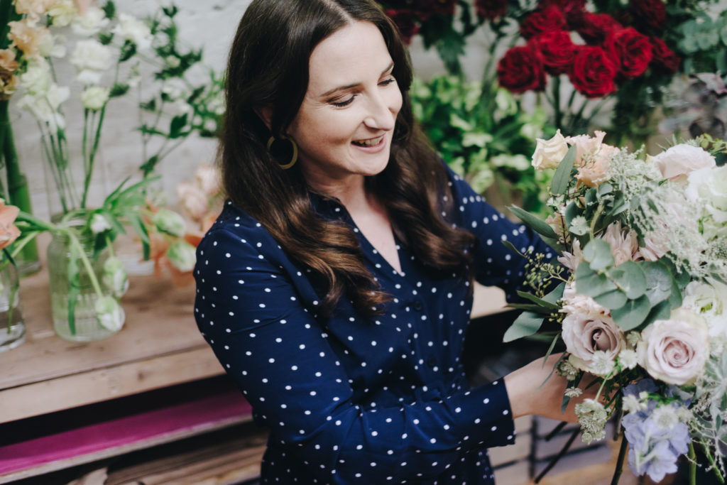 West Midlands Photographer 10 Personal Brand Photography for London Florist in Peckham