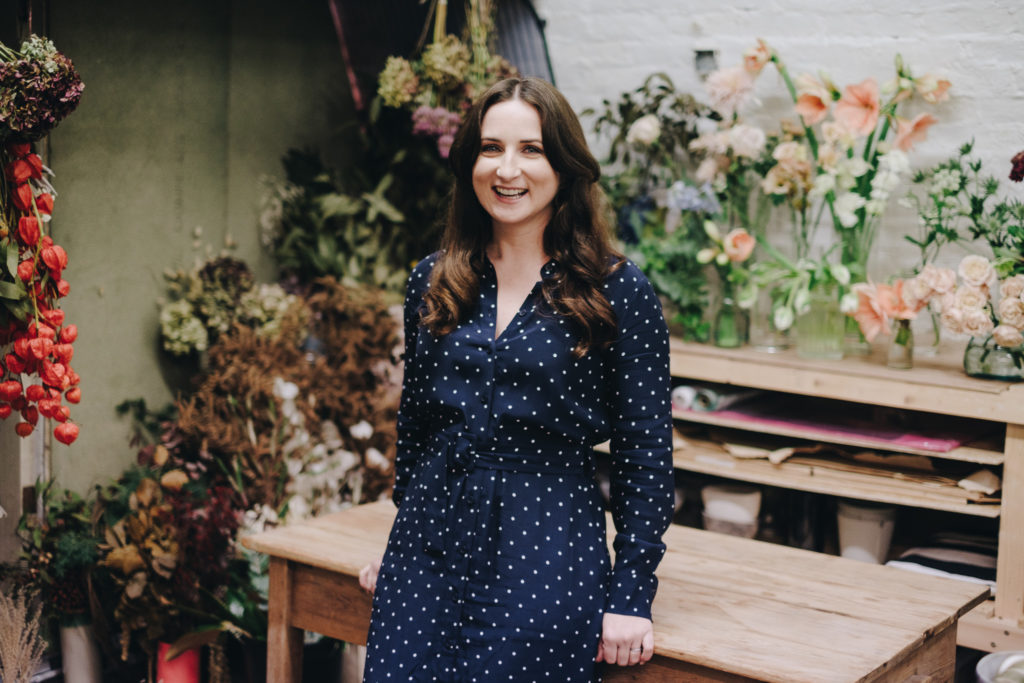 West Midlands Photographer 14 Personal Brand Photography for London Florist in Peckham