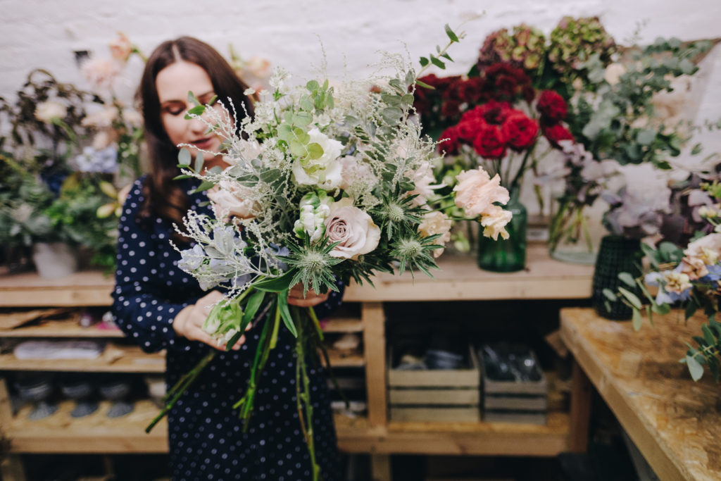 West Midlands Photographer 9 Personal Brand Photography for London Florist in Peckham