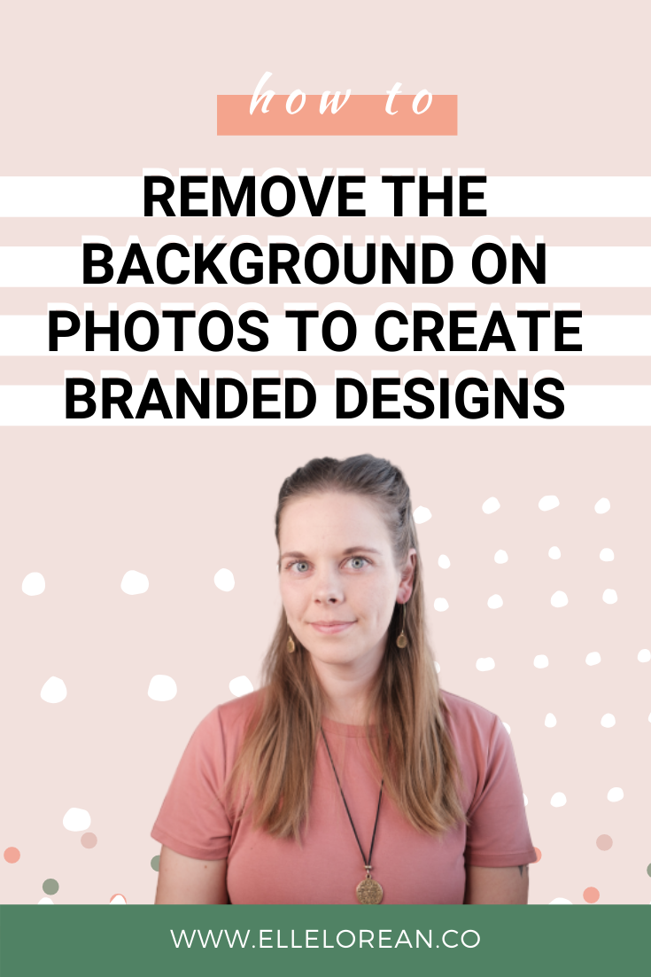 how to remove background on photos How to remove the background on photos to create branded designs