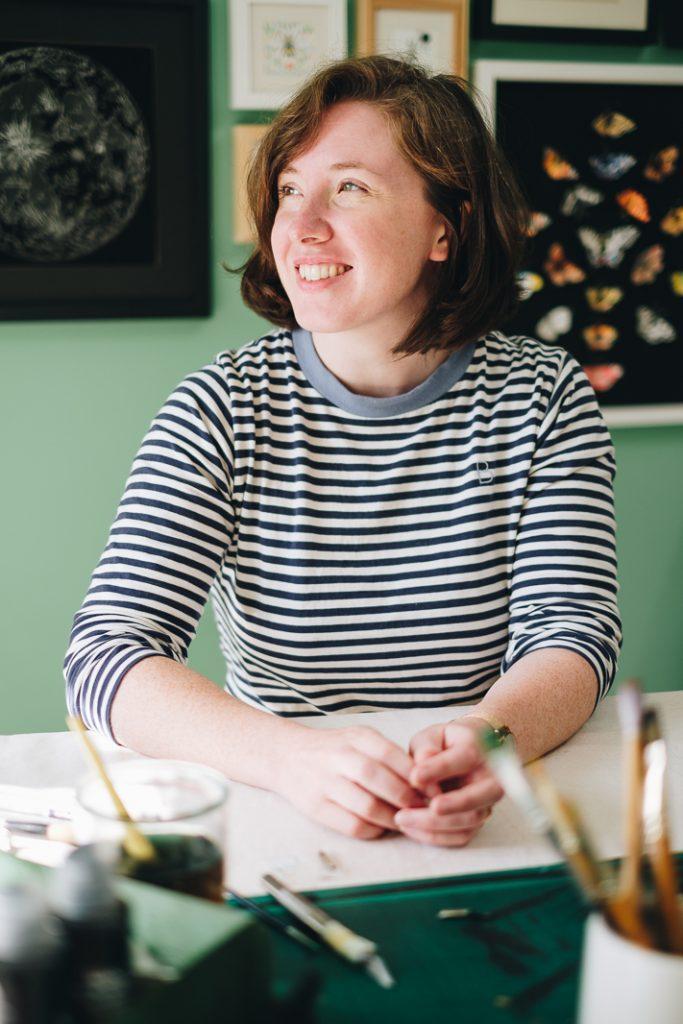 Sheffield Personal Brand Photographer 41 Casual Headshots for Artist & Illustrator | Nicola