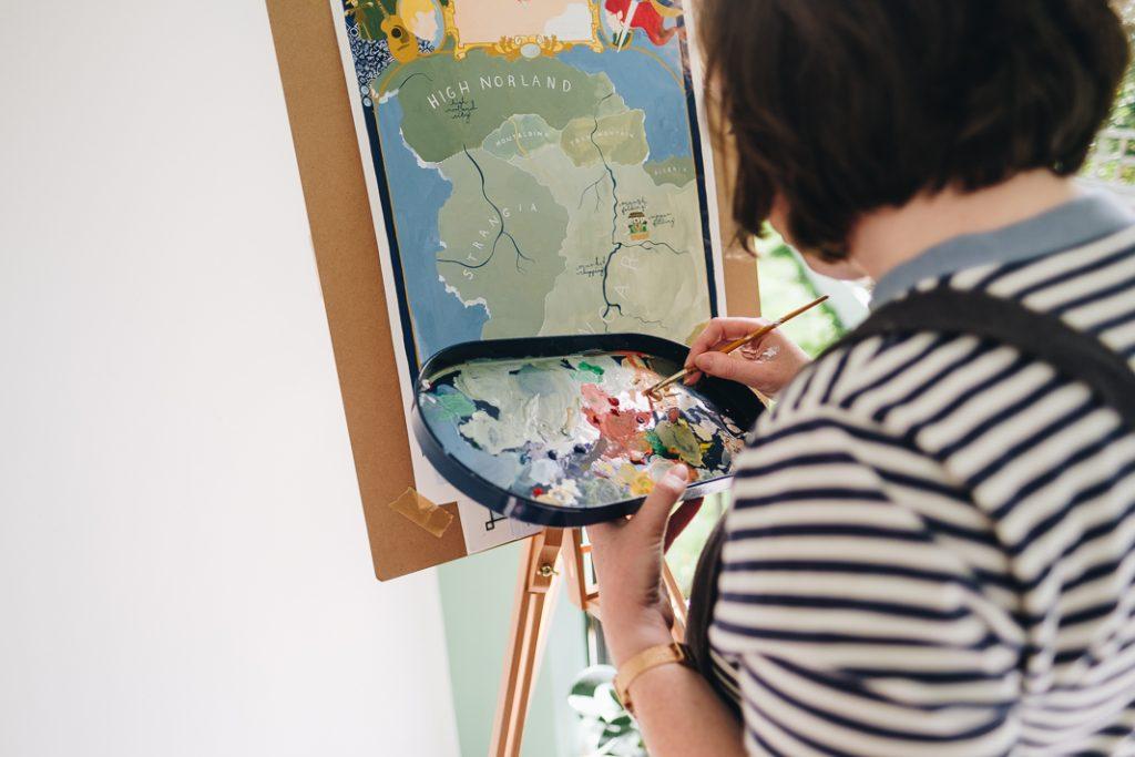 Sheffield Personal Brand Photographer 61 Casual Headshots for Artist & Illustrator | Nicola