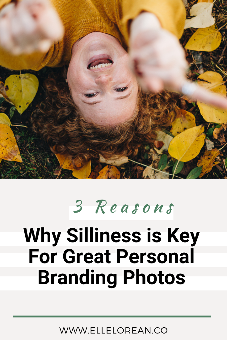 Three Reasons Why Silliness is Key For Great Personal Branding Photos 1 Your Permission Slip to be Silly and Weird for your Brand Photoshoot