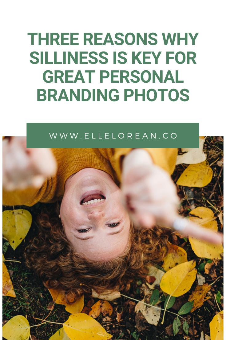 Three Reasons Why Silliness is Key For Great Personal Branding Photos 2 Your Permission Slip to be Silly and Weird for your Brand Photoshoot
