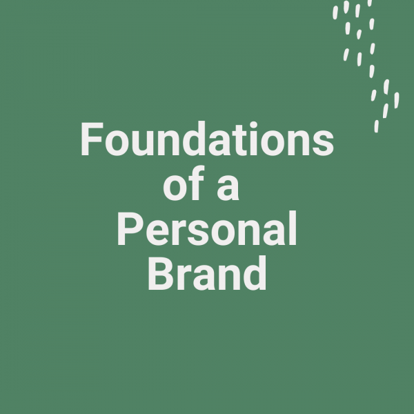 foundations cover Foundations of a Personal Brand